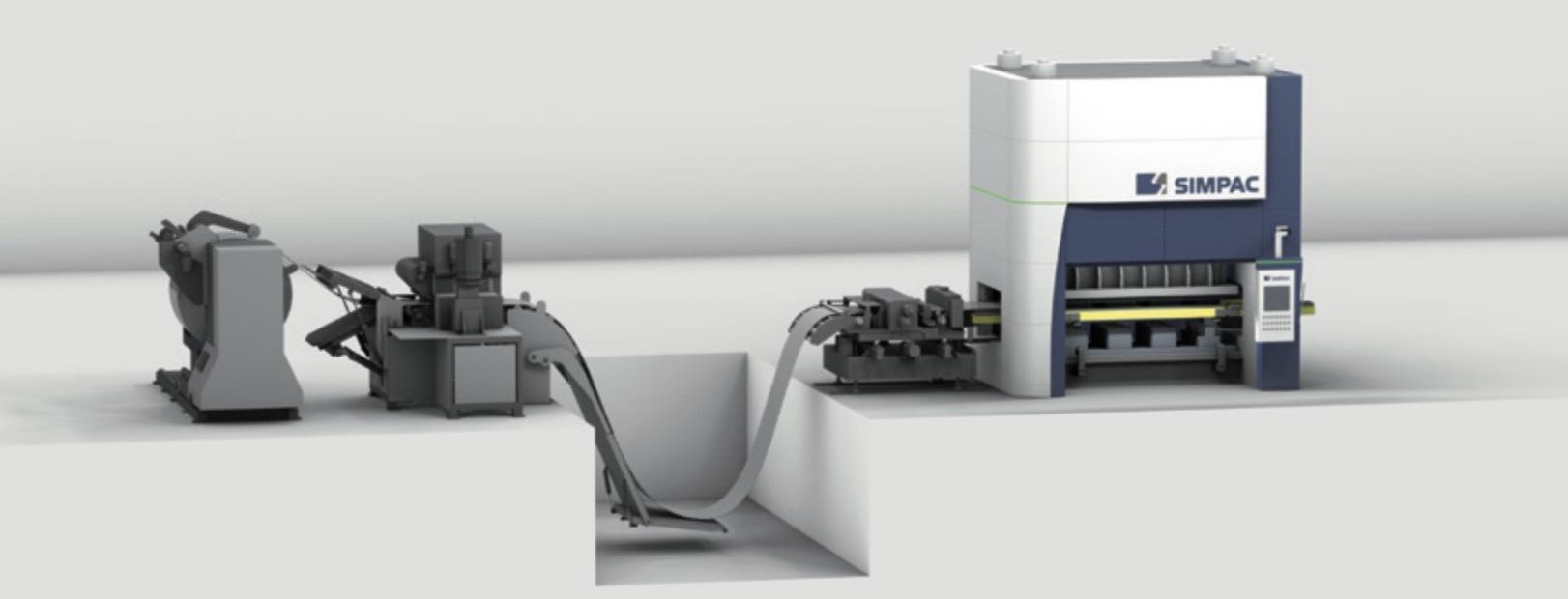 Maschinen für Metallumformung